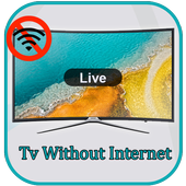 TV Without Internet Prank icon