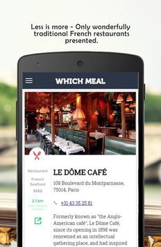 WhichMeal apk screenshot