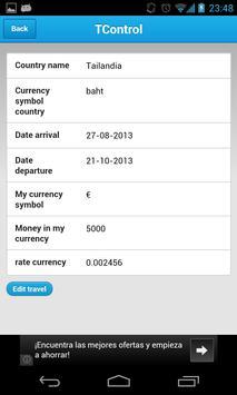 Travel Control apk screenshot
