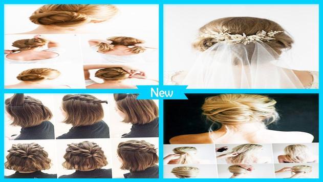 Adorable DIY Wedding Hairstyles poster