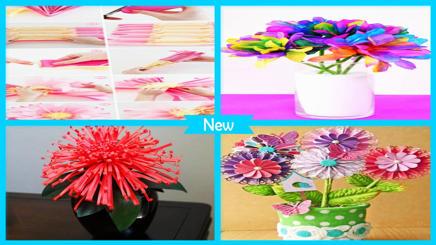 Cool paper flower craft for android apk download cool paper flower craft mightylinksfo