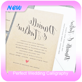 Perfect Wedding Calligraphy icon