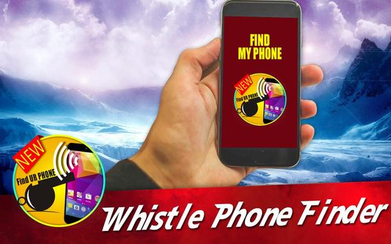Whistle to Find Phone Pro Free poster