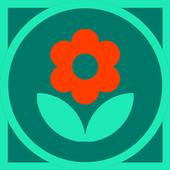 Gardener's diary - plants, herbs, grower icon
