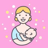 Amamentação - Diário de atividades do bebê ícone