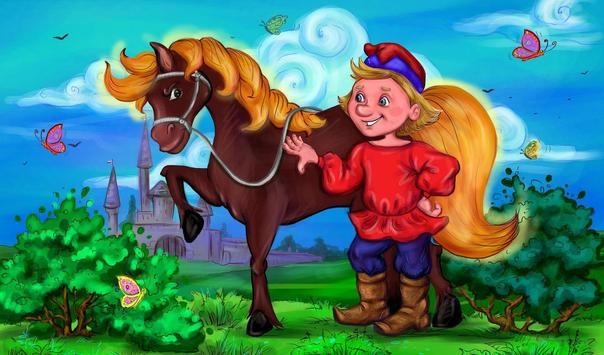 Tales and fairy tales audio books with pictures apk screenshot