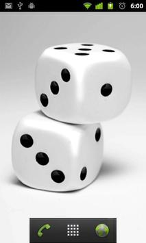 white dice live wallpaper apk screenshot