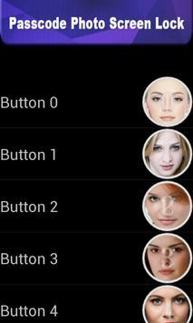 Passcode photo screen lock apk screenshot