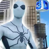 White Spider Hero Vs Black 🕷️ icon