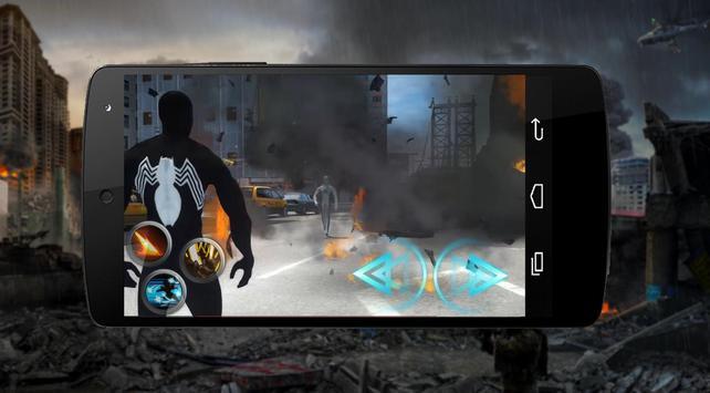 White Spider Hero Vs Black 🕷️ apk screenshot