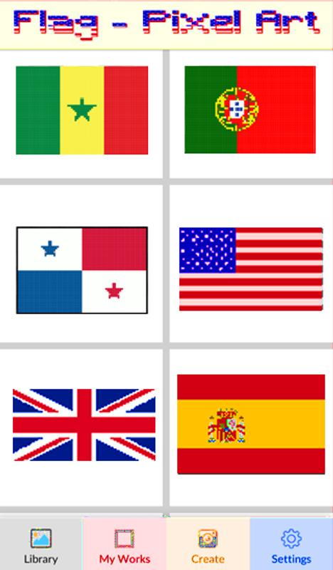 Flag Color By Number-Pixel Art: Coloring Book for Android - APK Download