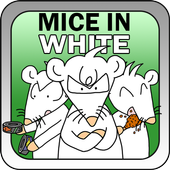 Mice in White icon