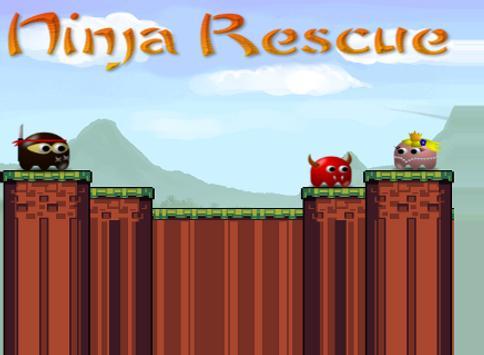 Ninja Rescue apk screenshot