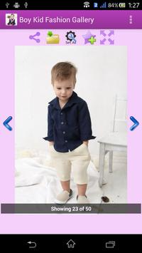 Boy Kid Fashion Gallery apk screenshot
