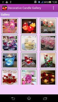 Decorative Candle Gallery screenshot 1