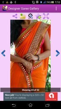 Designer Saree Gallery apk screenshot