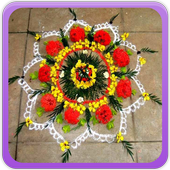 Flower Rangoli Gallery icon