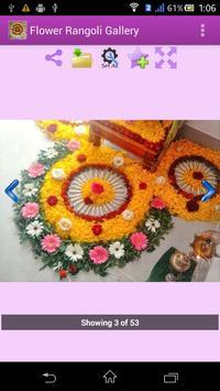 Flower Rangoli Gallery apk screenshot