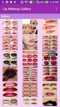 Lip Makeup Gallery apk screenshot