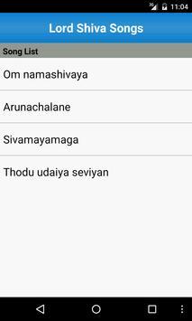 Lord Shiva Songs screenshot 1
