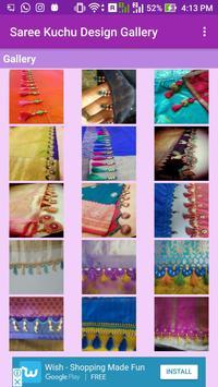 Saree Kuchu Design Gallery screenshot 1