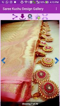Saree Kuchu Design Gallery screenshot 3