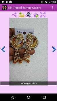 Silk Thread Earring Gallery apk screenshot