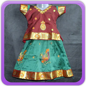 Silk Skirt For KIds Gallery icon