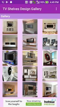 TV Shelves Design Gallery screenshot 1