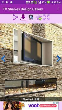 TV Shelves Design Gallery screenshot 2