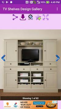 TV Shelves Design Gallery screenshot 3