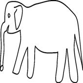 White Elephant Gift Exchange icon