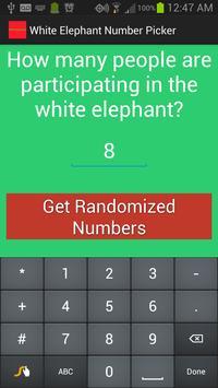 White Elephant Gift Exchange apk screenshot