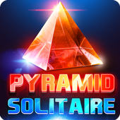 Glass Solitaire Pyramid - 3D icon
