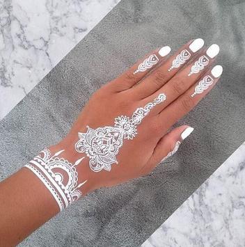 White Henna Inspirations apk screenshot