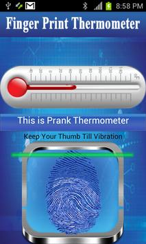 Finger Print Thermometer screenshot 2