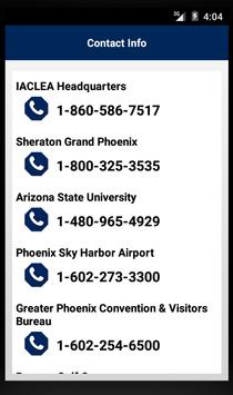IACLEA 2016 Annual Conference apk screenshot