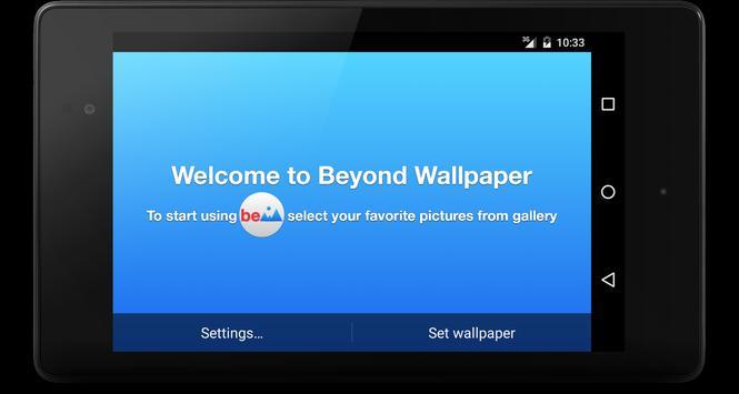 Beyond Live Wallpaper screenshot 4