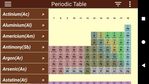 periodic table poster periodic table apk screenshot periodic table apk screenshot - Periodic Table Apk Free Download