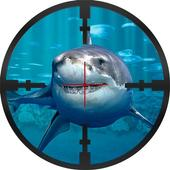 ikon Hiu bawah air Sniper Hunter