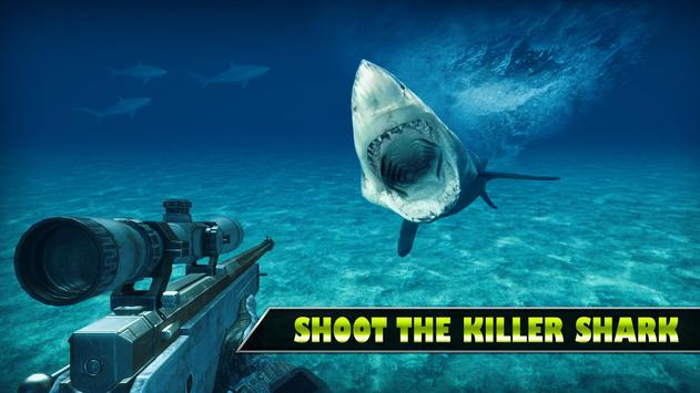 Underwater Shark Sniper Hunter poster