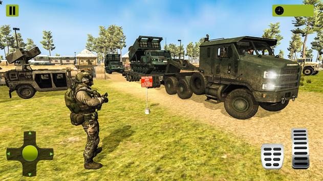 US Army Missile Truck Transport Cruise Ship Games screenshot 1