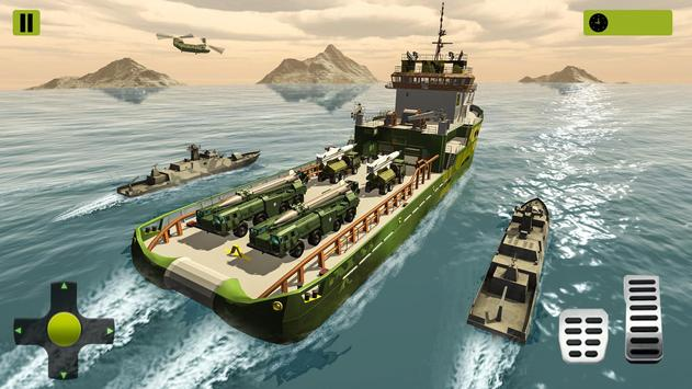 US Army Missile Truck Transport Cruise Ship Games screenshot 2