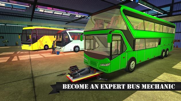Bus Mechanic Workshop Sim screenshot 1