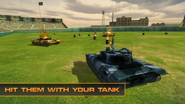 Army Tank Warrior 3D poster