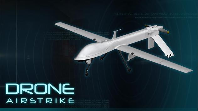 Drone Airstrike Fighter Combat poster