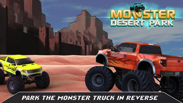 Extreme Offroad Truck Parking poster