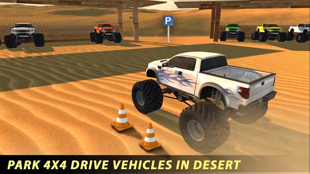 Offroad Monster Truck 4x4 Game poster