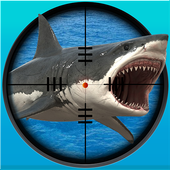 Whale Shark Sniper Hunter 3D-icoon