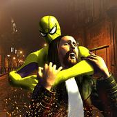 Flying Spider Hero City Battle icon